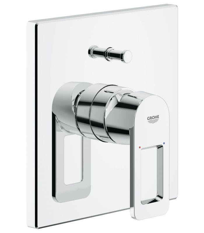 Monomando grohe ducha quadra monomando para ba o y ducha 1 2 for Ducha termostatica grohe
