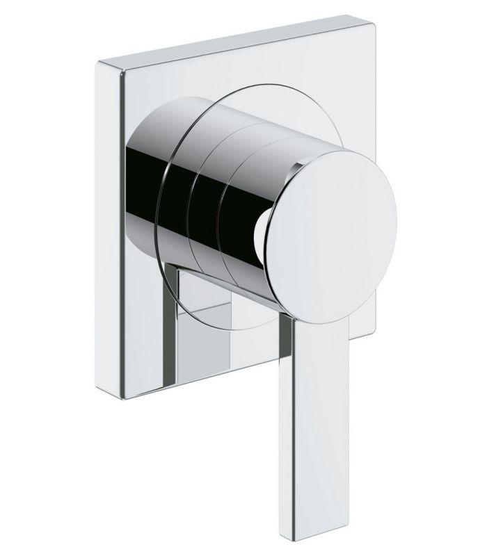Monomando grohe ducha allure parte exterior llave de paso for Como quitar las llaves dela regadera