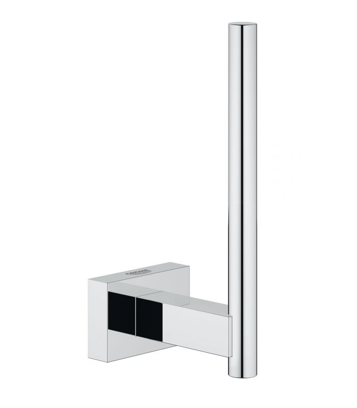 Accesorio de ba o grohe essentials cube portarrollos de pared for Portarrollos wc