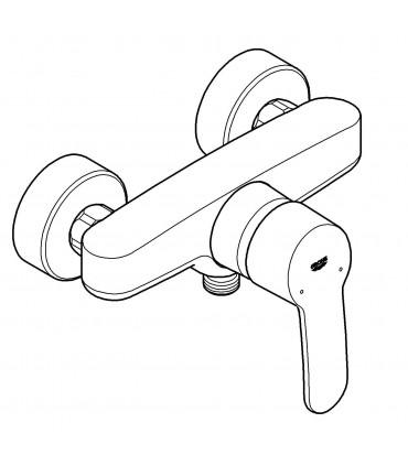 Grifería para baño Grohe Eurostyle Cosmo mon. de ducha visto