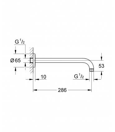 Sistema de ducha Grohe Rainshower Eq.De Ducha Modern (28576000)