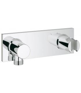 Sistema de ducha Grohe Grohtherm F placa codo y soporte metal