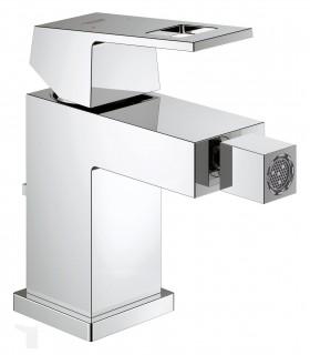 Grifería para baño Grohe EUROCUBE MONOMANDO BIDE 28mm vaciador S