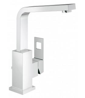 Grifería para baño Grohe Eurocube Lav 28mm caño alto vaciador L