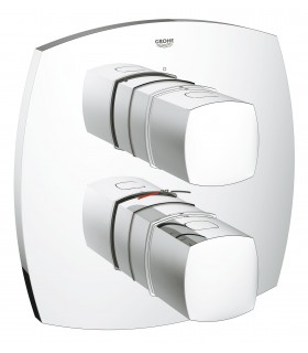 Termostato Grohe Grandera termostato Empotrado ducha (19934000)