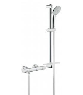 Termostato Grohe G-1000 Cosmo M + Conjunto ducha