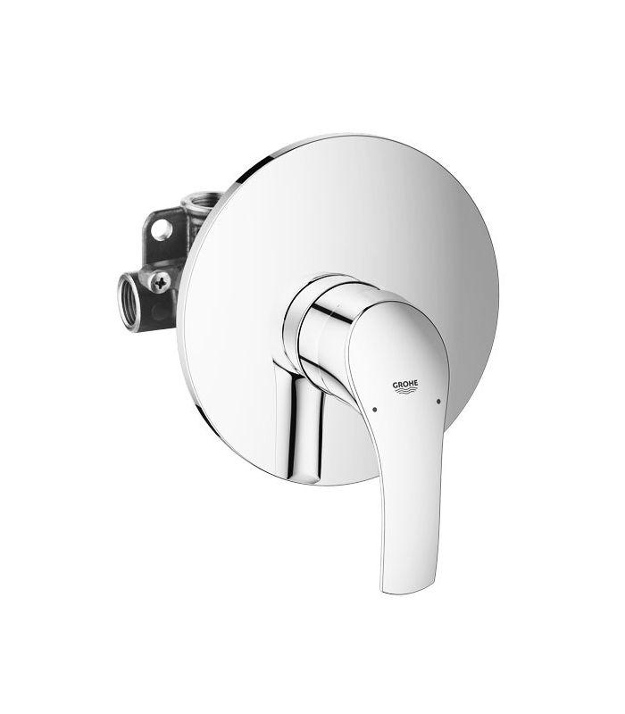 Monomando empotrable para ducha grohe eurosmart 33556002 for Monomando para bano