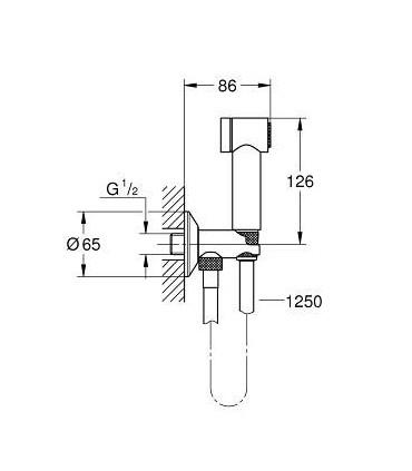 Conjunto de ducha Grohe Sena Trigger Spray 35 (26332000)