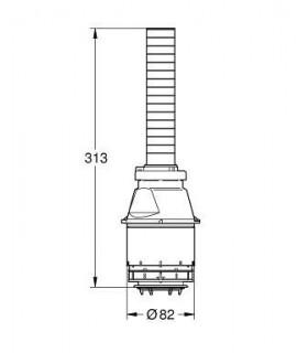 Válvula de descarga GROHE para cisternas empotrables