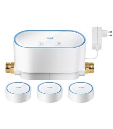GROHE Sense kit Control de agua inteligente + 3 x Sensores de agua inteligentes
