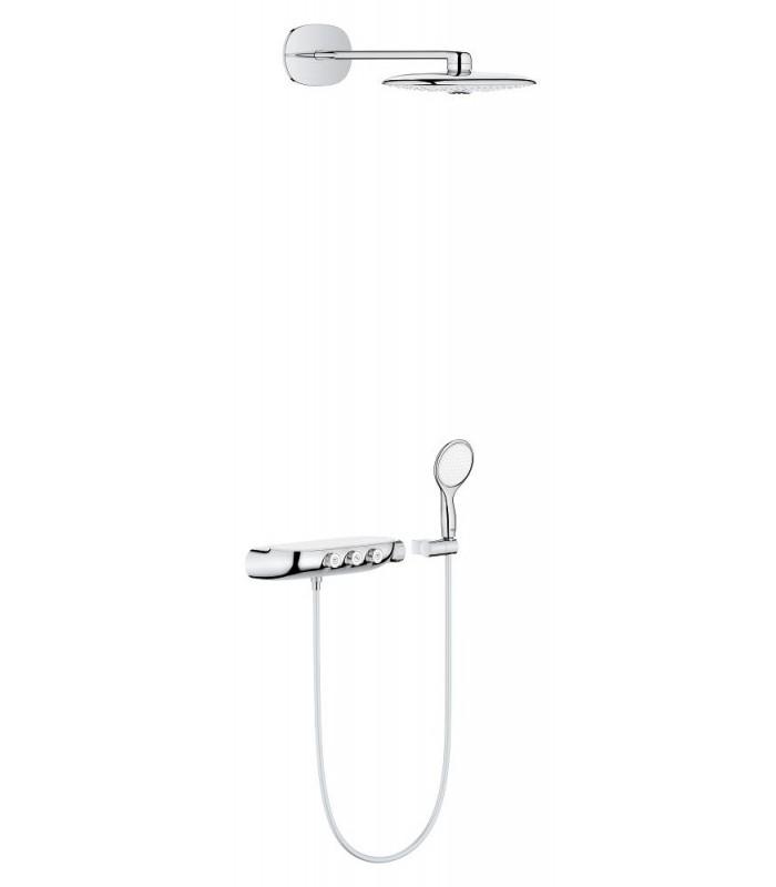 sistema de ducha termostato empotrado grohe rainshower smartcontrol. Black Bedroom Furniture Sets. Home Design Ideas