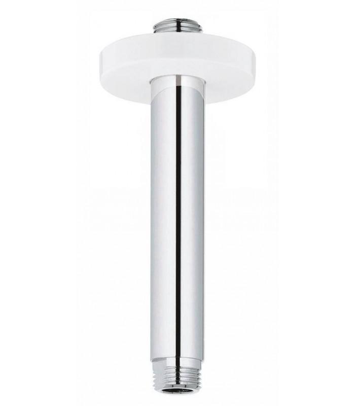 Brazo de ducha de techo 142 mm blanco grohe 28724ls0 for Ducha de techo