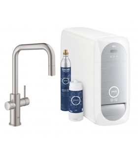 GROHE Blue Home Pull out caño U. Supersteel mate Grohe (31543DC0)