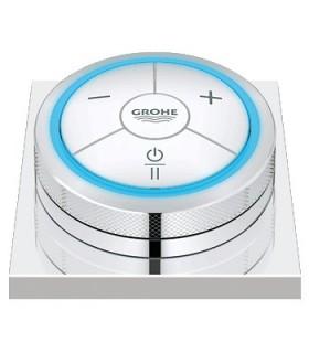 Grifo GROHE de lavabo GROHE Controlador digital para baño o ducha con base cuadrada