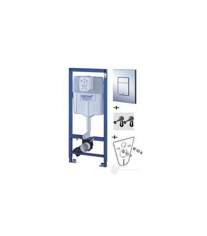Pack Rapid SL cisterna empotrable de 1,13m set 4 en 1