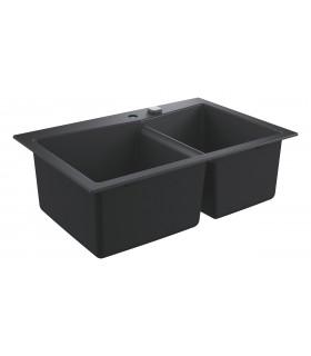 Grohe K700 Fregadero de granito (31657AP0) color Negro Granito