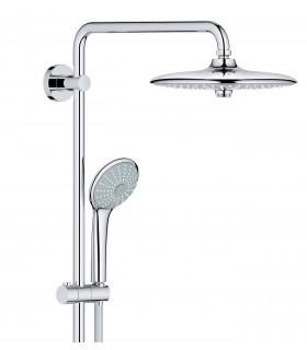 Grohe Euphoria 260 - Sistema de bañera y ducha con termostato, alcachofa 260mm con treschorros y teleducha de 110mm