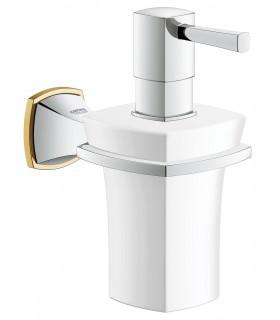 Accesorios de baño Grohe Grandera dosificador jabón con soporte (40627IG0)