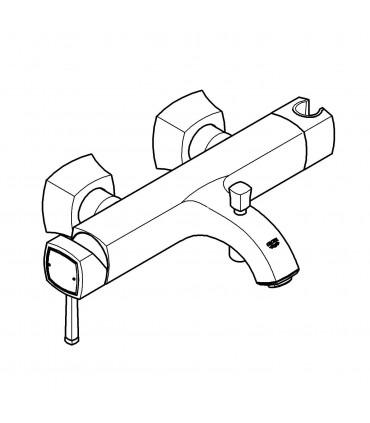 Grifería para baño Grohe Grandera monomando para baño ducha (23317IG0)