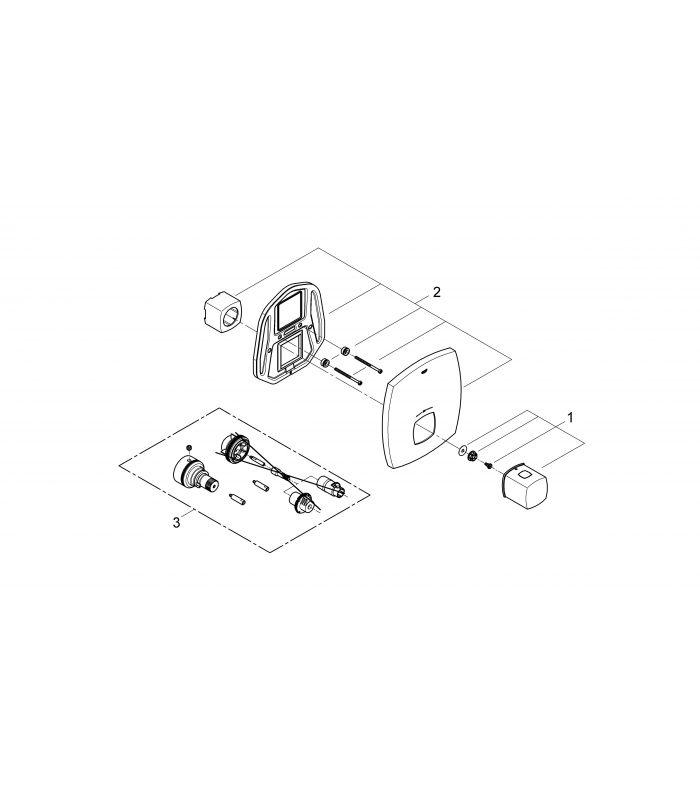 Grohe termostato grandera 19941ig0 oferta y compra online for Termostato para ducha