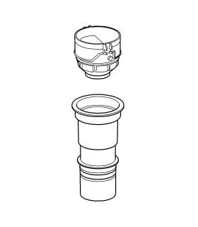 Recambio y accesorio sanitario Grohe Adaptador válvula AV1 para 4,5 litros
