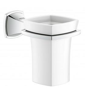 Accesorio de baño Grohe Grandera vaso cerámico con soporte (40626000)