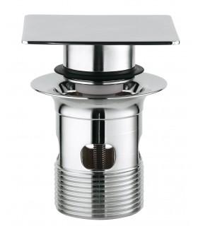 Recambios y piezas Grohe Válvula de desagüe push up cuadrada