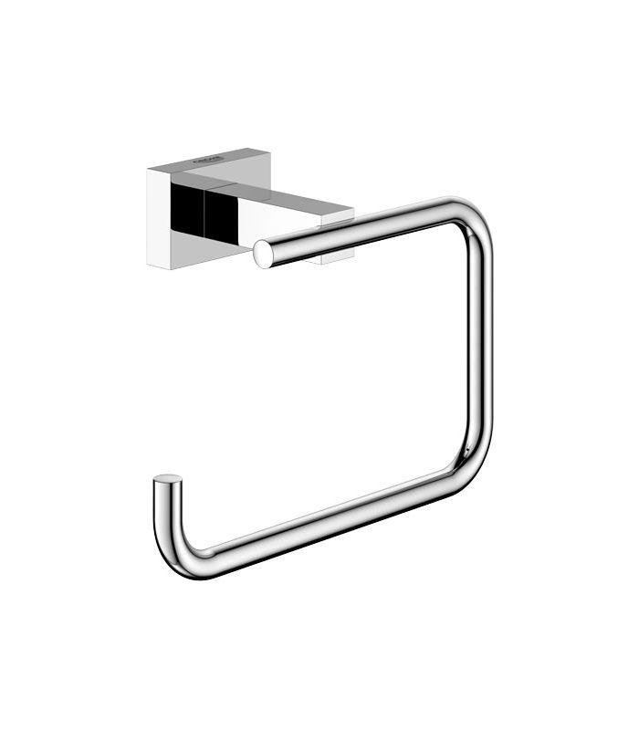 Accesorio de ba o grohe essentials cube portarrollos for Accesorios bano portarrollos