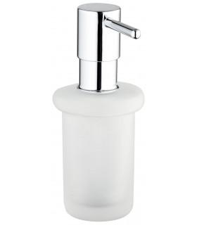 Accesorio de baño Grohe Veris dispensador de jabon de cristal satinado sin soporte (40389000)