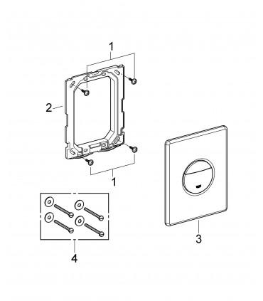 Recambio y accesorio sanitario Grohe Nova Escudo Skate Dual Flush